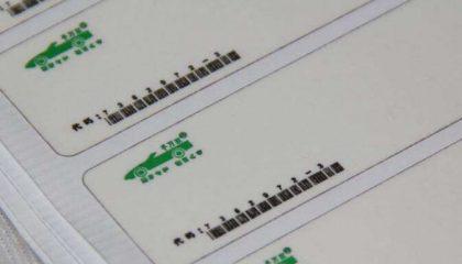 拓印纸标签